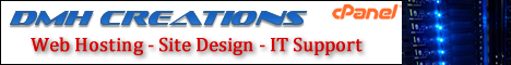 DMH Creations - Web Hosting - Site Design - IT Support